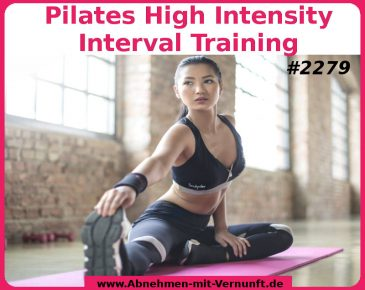 Kalorien purzeln dank Pilates High Intensity Interval Training