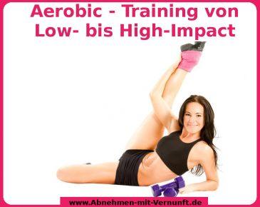 Aerobic regt die Fettverbrennnung an
