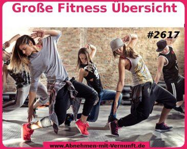 Große Auswahl beim Fitnesssport