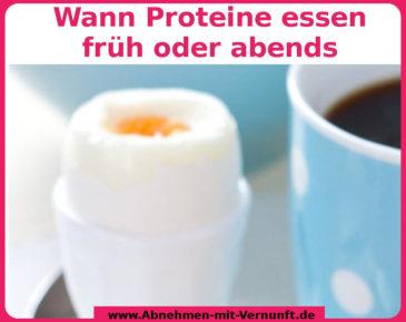 Nimmt man Proteine zum Muskelaufbau besser zum Frühstück oder zum Abendessen ?