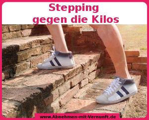 Mit Stepping gegen die Kilos