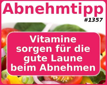 Vitamine sorgen für die gute Laune