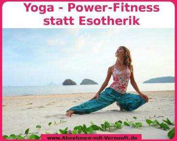 Wie Yoga beim Abnehmen helfen kann